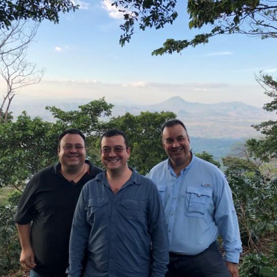 El Salvador Enrique, Rene and Gustavo Urrutias
