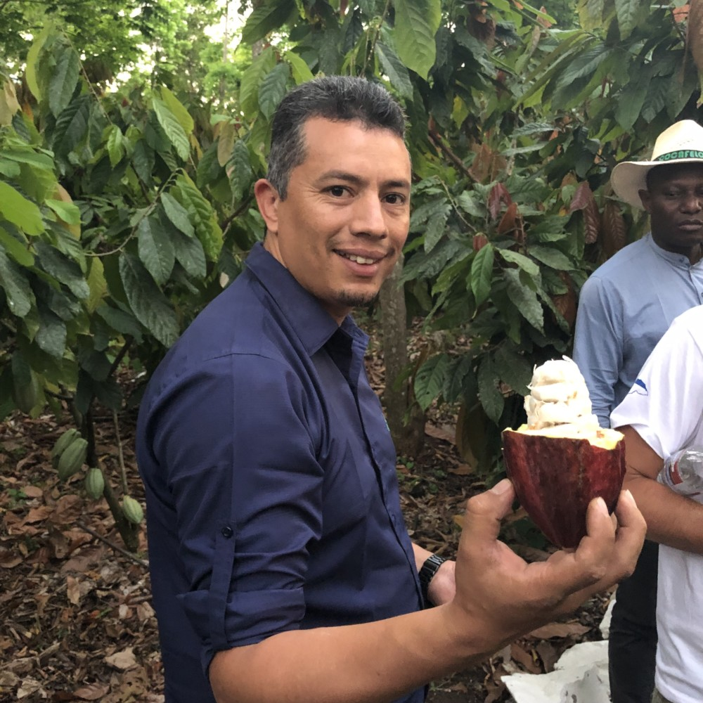 Carlos, head of Cacao at COAGRICSAL