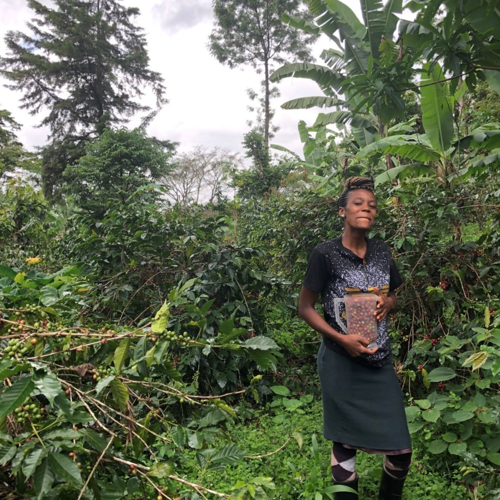 Fuhara, 21 year old coffee farmer Tanzania