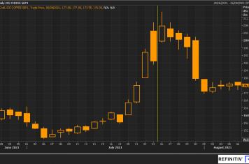 Image for Fortnightly Market Report 10/08/21